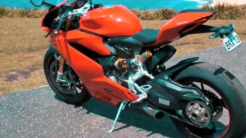 杜卡迪1299极速299KMh,单摇臂是如何撑住这种速度的?
