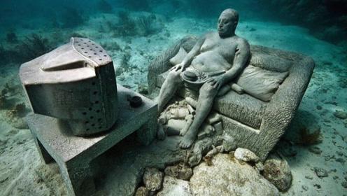 """墨西哥湾""""海族遗址"""",水下生活数千人,当地人秘密保护"""