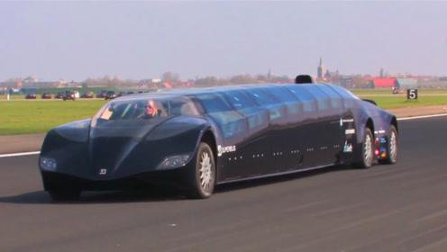 世界上最快的公交车,造价7000万,门票却只收2元钱