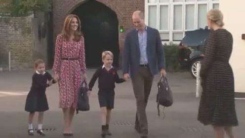 夏洛特公主开学第一天,粉丝惊叹:太像女王小时候了!