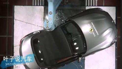 新款宝马Z4碰撞测试,时速55刹车距离只有10米太惊人