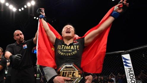 中国张伟丽,打倒UFC最强安德拉,成为世界冠军!