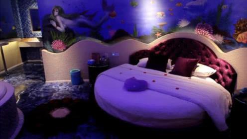 """情侣酒店中的""""水床"""",睡起来舒服吗?看完制作过程就懂了!"""