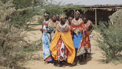 """非洲最""""霸气""""女酋长,统领58个村落,所有男性都是私人财产!"""