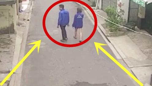 一对小情侣牵手走进小巷子,三秒后画面太荒唐!