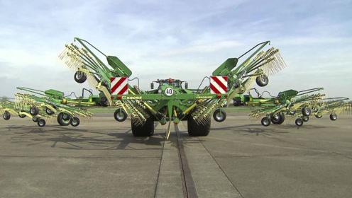 3台难得一见的农业机械,德国这机械水平太先进!