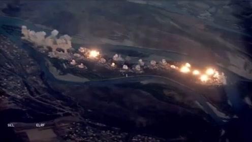911周年前夕,美军向伊拉克小岛投下近40吨炸弹