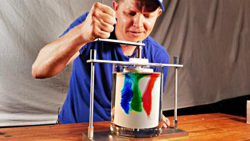 混合的颜色还能复原?老外发明神奇混色机,看完悟出什么了吗?