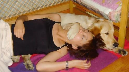 23岁女子与狗同吃同睡,半年后发现肚子不对劲,检查后女子痛哭