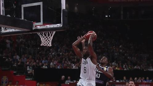 篮球世界杯十大扣篮 易建联逆天隔扣字母哥一飞冲天