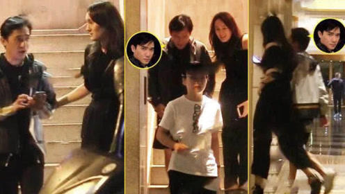梁朝伟与混血美女同返酒店,贴肩搂腰,网友:不怕被刘嘉玲知道?