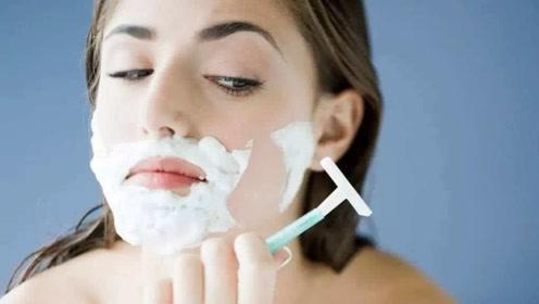 """男性长胡子正常,为什么有些女性也会长出""""小胡子""""?可以刮吗?"""
