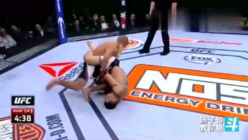 """UFC""""夜魔""""多恐怖 ?弗格森招式处处惊险"""