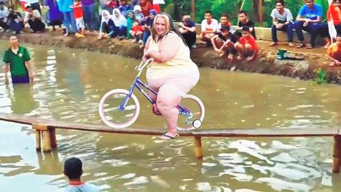 奖金50万的自行车比赛,不服的,来见识一下