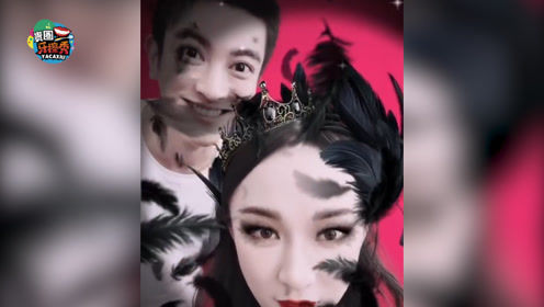 """杜江夫妇镜头前大秀恩爱,霍思燕被老公变成""""黑天鹅"""""""