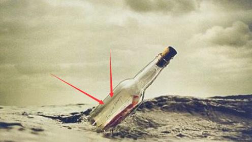 男子偶然捡到100年前的漂流瓶,看到里面的东西,直呼发财了!