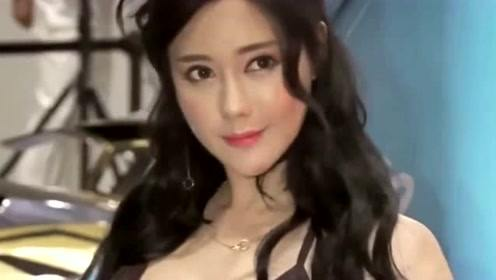 性感车模柳多妍,这身材和颜值堪称典范,值得收藏!