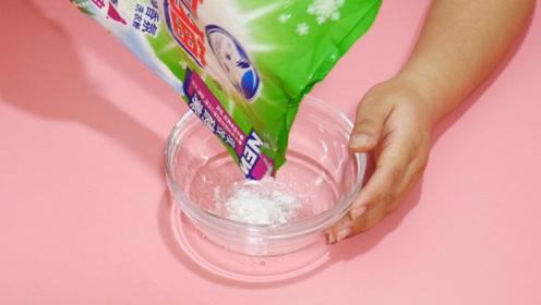 白糖和洗衣粉一起用,作用可真厉害,解决了家里面都存在的大难题