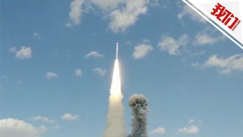 """一箭五星 长十一火箭再送""""珠海一号""""卫星进入太空"""