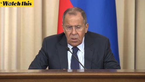 俄外长:无事实依据指控伊朗只会加剧该地区的紧张局势