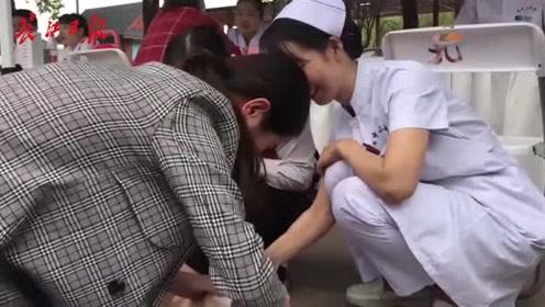 大型义诊活动在汉举行,53家医疗卫生单位为群众提供健康咨询