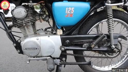 小伙口中没坏过的本田代步摩托车:CB125,瞧他骑得多带劲