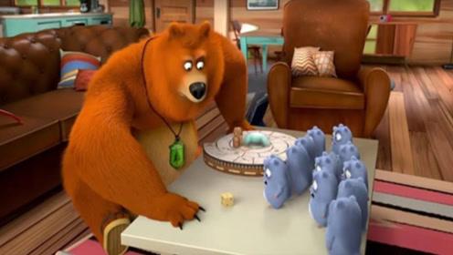 结果被骗了大熊意外得到宝物,小仓鼠知道破解方法,真会玩