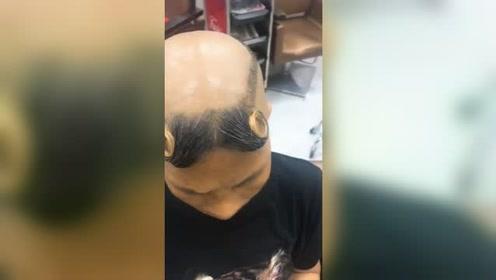 看这剪得发型,此处应有掌声