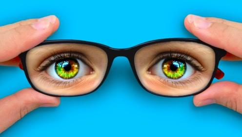 5个文具DIY创意小妙招,原来眼镜还能这样用,实在太有趣了