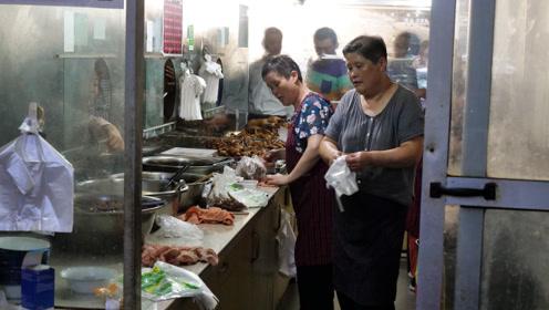 苏州最牛卤菜,大叔30年店里只卖肉!人均30做下酒菜壮汉都买