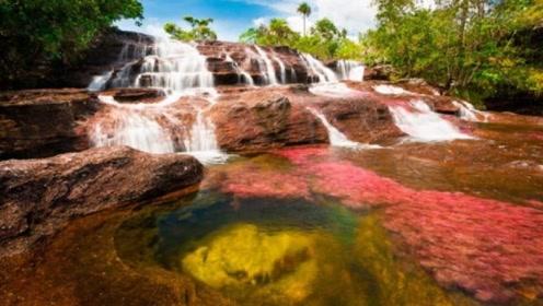 最傲娇的河流,游客化妆不允许进入,被称为'天堂流出的河'