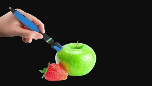 老外发明高科技神笔,能吸取物体颜色,1600万种颜色随便挑