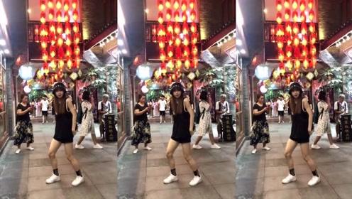 小姐姐街头跳舞,跳得这么好,怎么只有这么几个人围观?