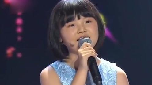 12岁网红韩甜甜,央视挑战霍尊的《卷珠帘》,开口全场瞬间安静