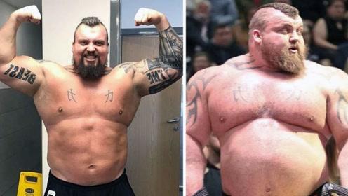 巴铁男子重达870斤,每天吃10斤肉和40个鸡蛋,不在话下!