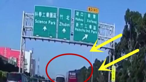 高速路上突然堵车,造成大巴车连续追尾!真是惨不忍睹啊!