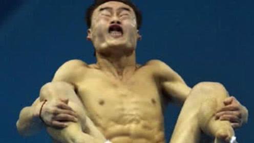 逆天的跳水姿势!菲律宾创第一个0分跳水,网友:来搞笑的吗?