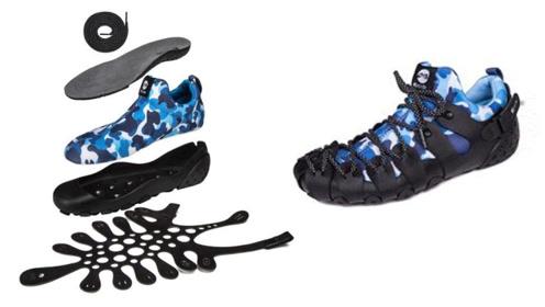 一双鞋子相当于2双,可以穿一年,能在室内外和凉鞋中随意切换
