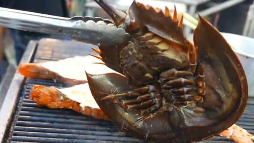 泰国街头一海鲜到处都是,5块1个,在中国却稀有成保护动物!