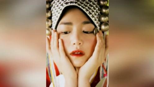 陈妍希清迈大片曝光 猫系眼妆融入艺术色彩