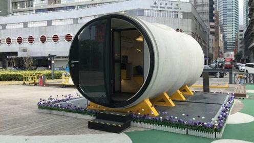 设计师用水泥管打造豪华住宅,有空地就能放,香港穷人的福音