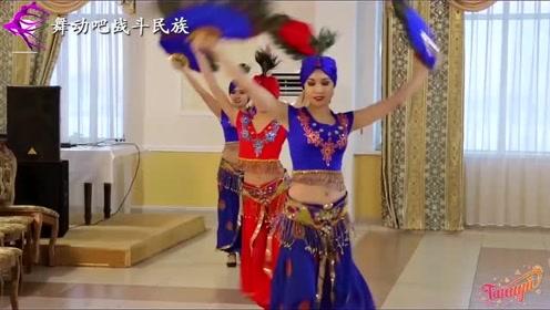 """重金请来的俄罗斯舞团表演""""东方舞"""",浓浓的异域风情"""