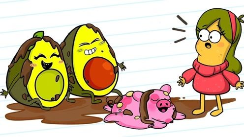 朋友外出办事,水果人夫妇答应照看宠物猪,细心呵护简直太贴心!