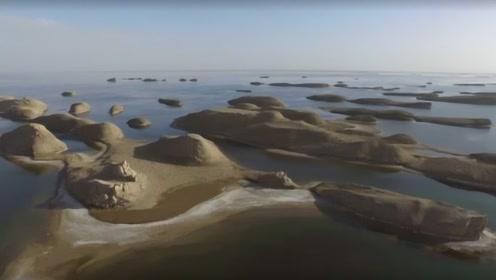 中国内蒙古发生奇迹!亿吨黄河水引入沙漠,老外傻眼:大国实力!