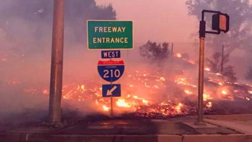 一夜之间北洛杉矶成火海, 10万人大撤离