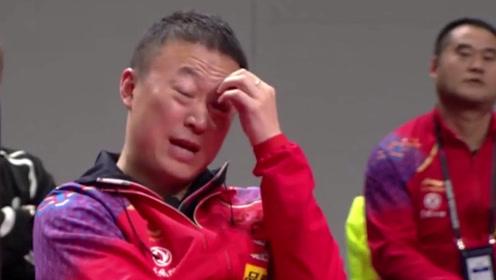 不如朱雨玲?国乒世界第1一天内连输2次,马琳看了直咬牙摇头