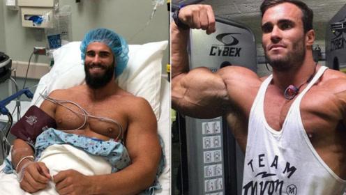 小阿诺断开类固醇狂掉45斤肌肉!网友:这就是肌肉缩水的原因?