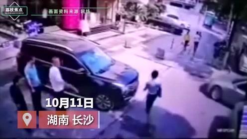 长沙女律师被撞身亡监控曝光,丈夫:司机有时间去刹车