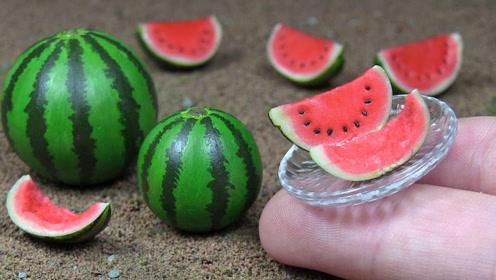 """荷兰公司培育出""""拇指""""西瓜,只有指头蛋大小,网友:好吃吗?"""