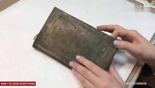 这都能翻新?古董书籍